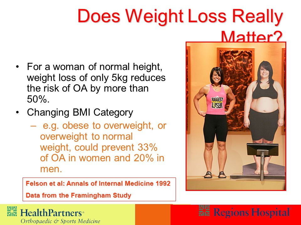 Does Weight Loss Really Matter