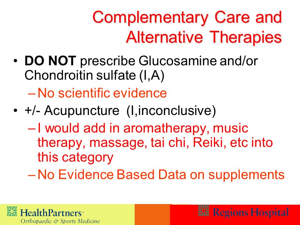 Complementary Care and Alternative Therapies