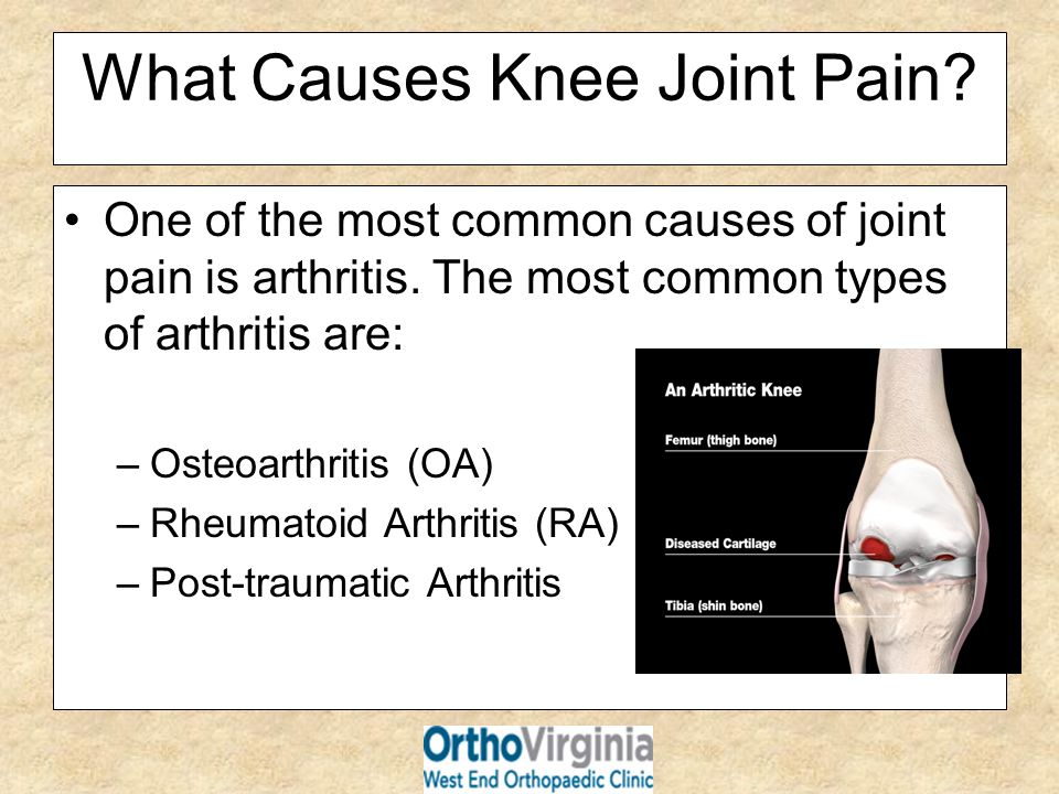 What Causes Knee Joint Pain