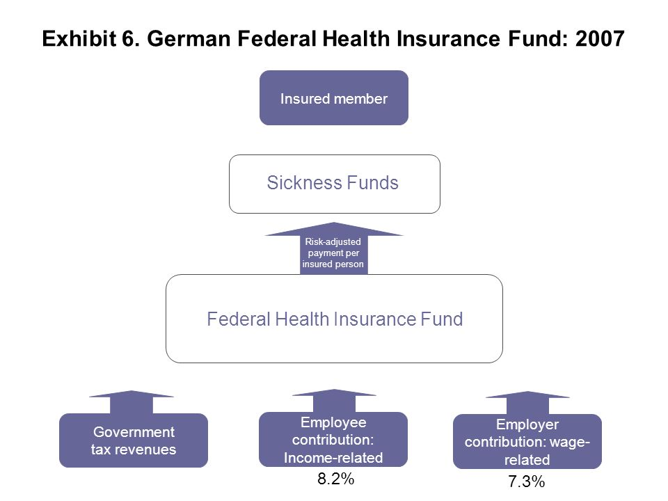 Exhibit 6. German Federal Health Insurance Fund: 2007