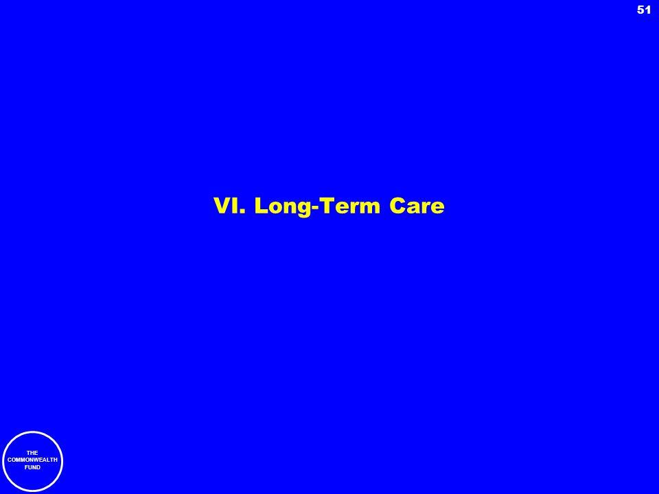 VI. Long-Term Care