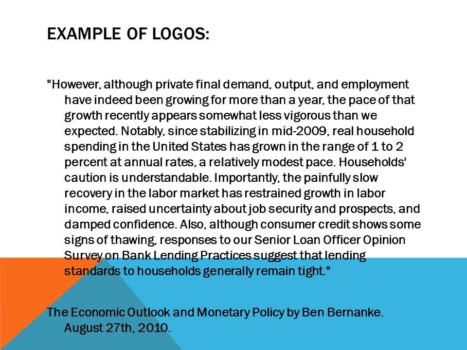 Example of Logos: