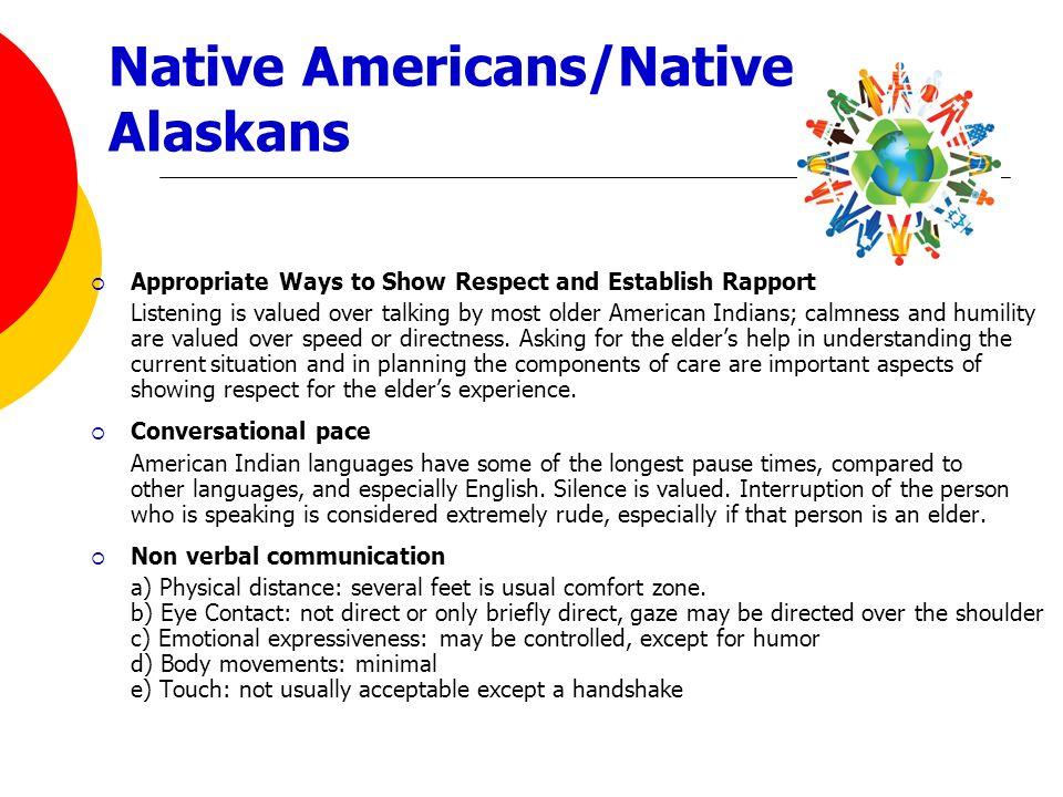 Native Americans/Native Alaskans