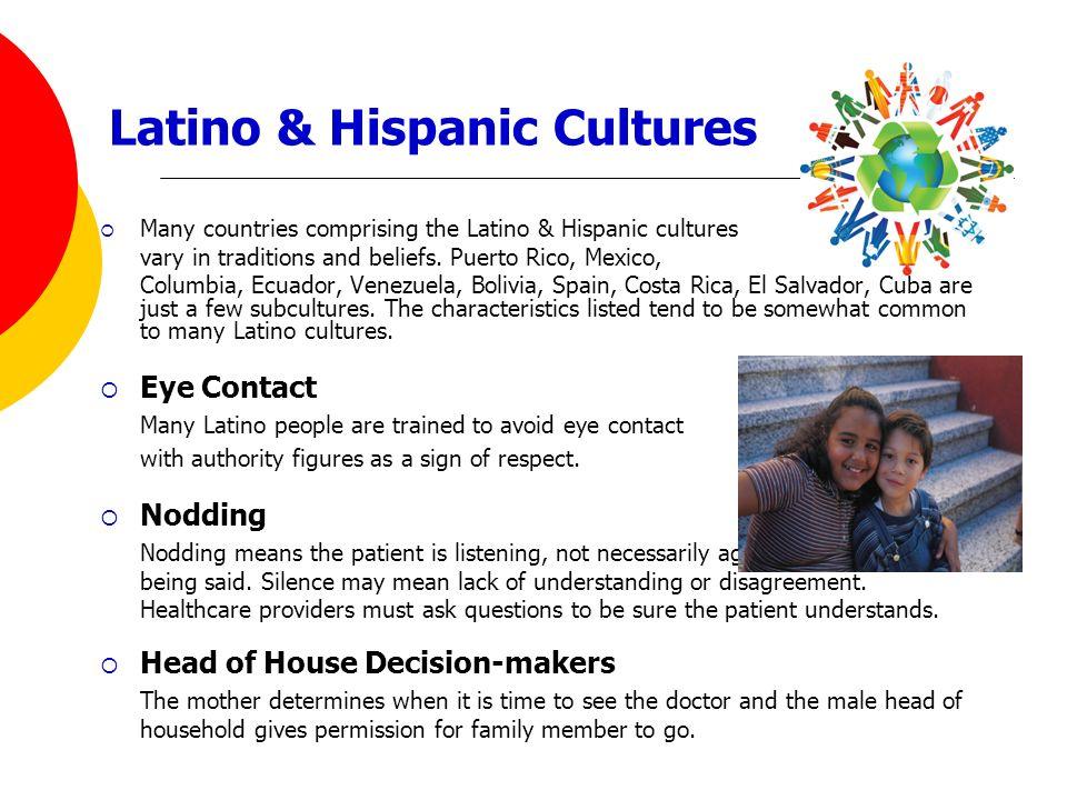 Latino & Hispanic Cultures