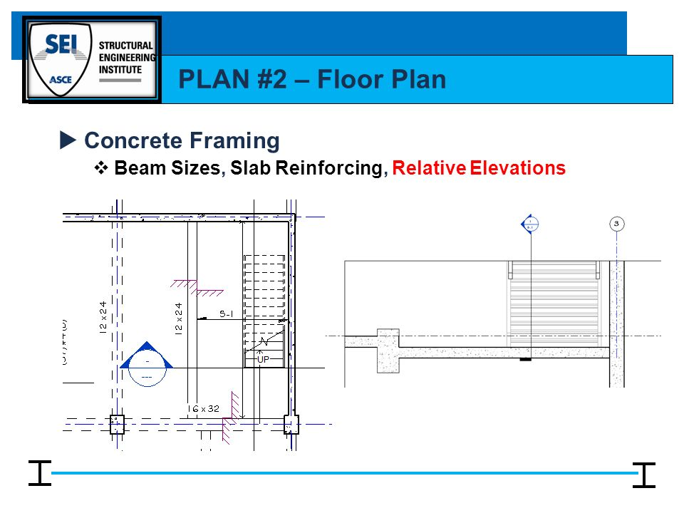 Floor Slab Elevation : Reading structural drawings ppt video online download