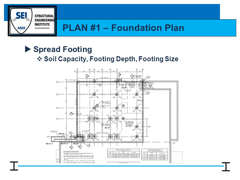 Reading structural drawings ppt video online download for How to read foundation blueprints