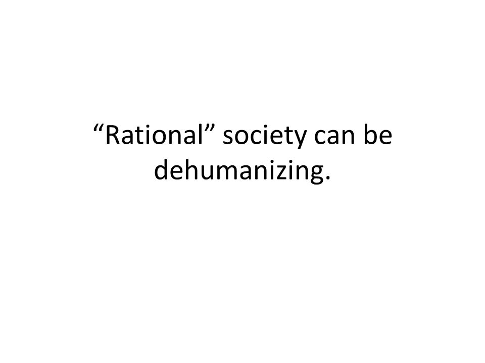 can technology dehumanize society Dehumanization is the psychological process of demonizing the enemy, making them seem less than human and hence not worthy of humane treatment this can lead to increased violence, human rights violations, war crimes, and genocide.