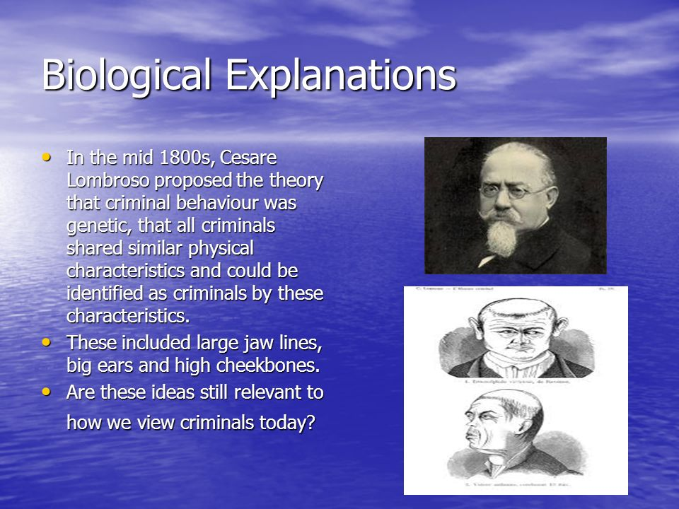 Biological Explanations