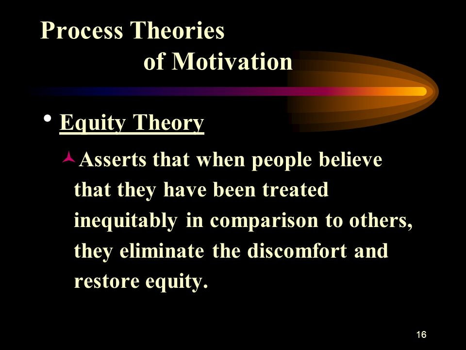 the process theories of motivation essay Motivation essay 523 words  lets rise on the shoulders of the giants :a classification of motivation theories (content vs process)motivation theories can be.