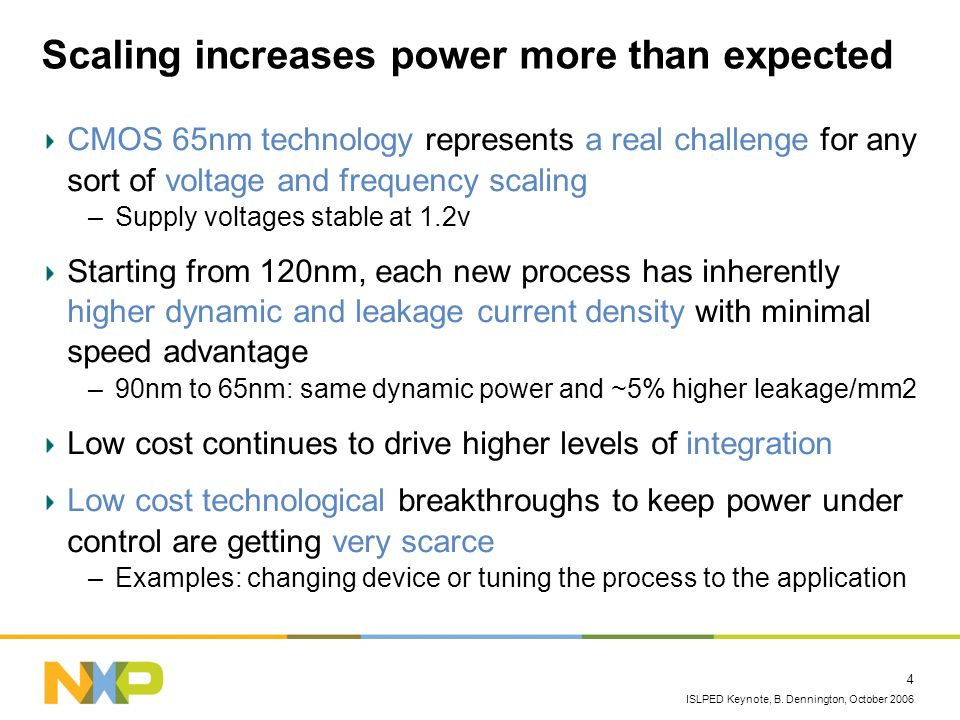 Scaling increases power more than expected