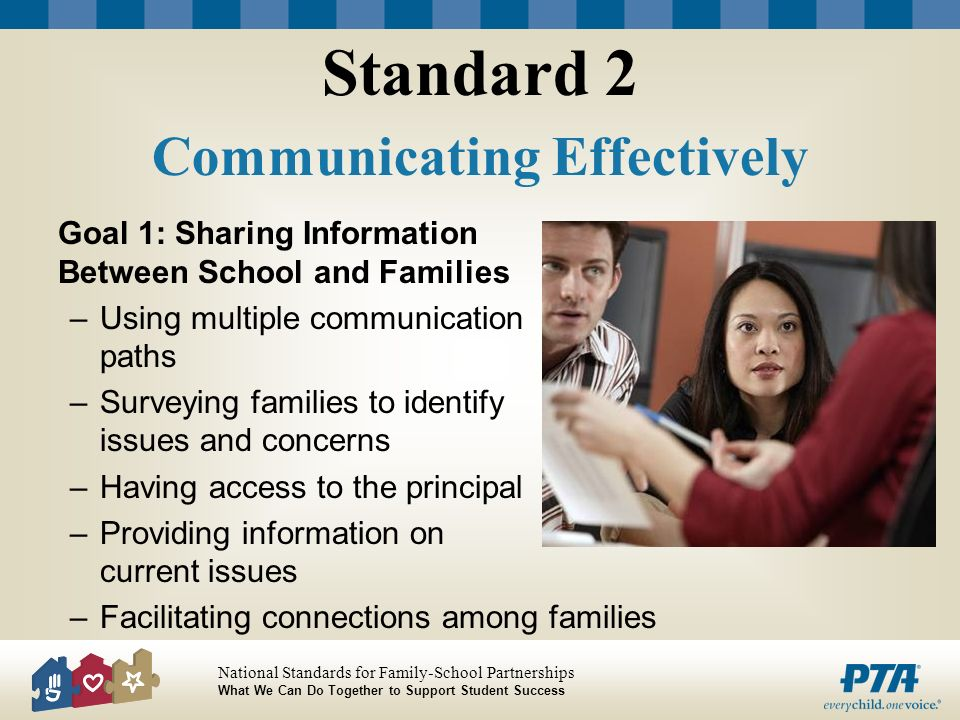 Standard 2 Communicating Effectively