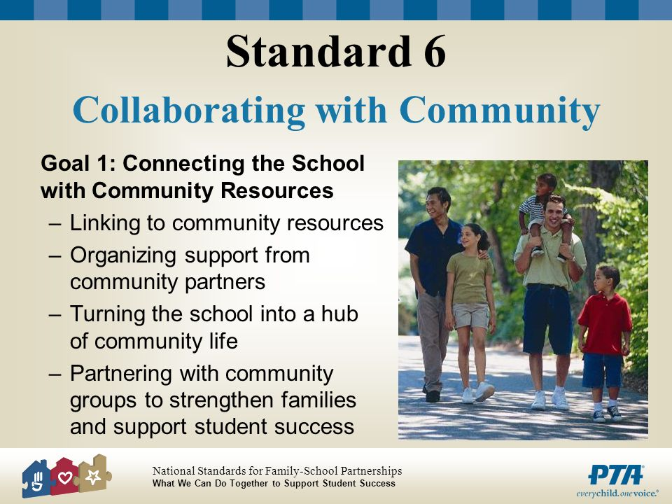 Standard 6 Collaborating with Community