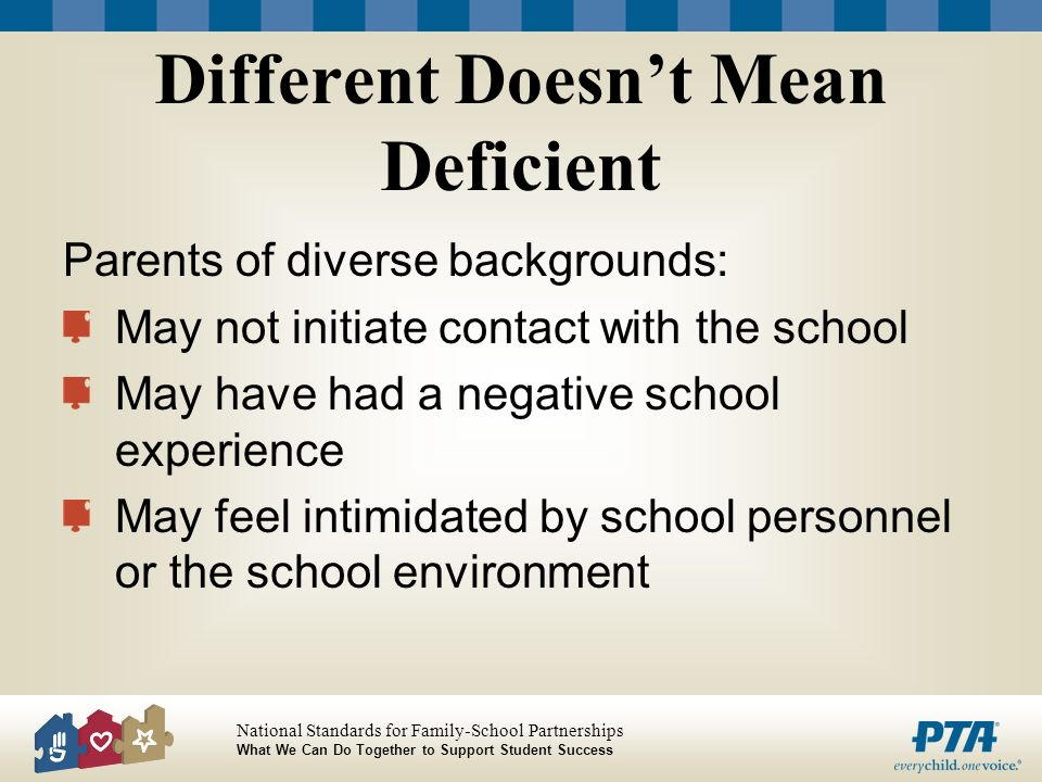 Different Doesn't Mean Deficient