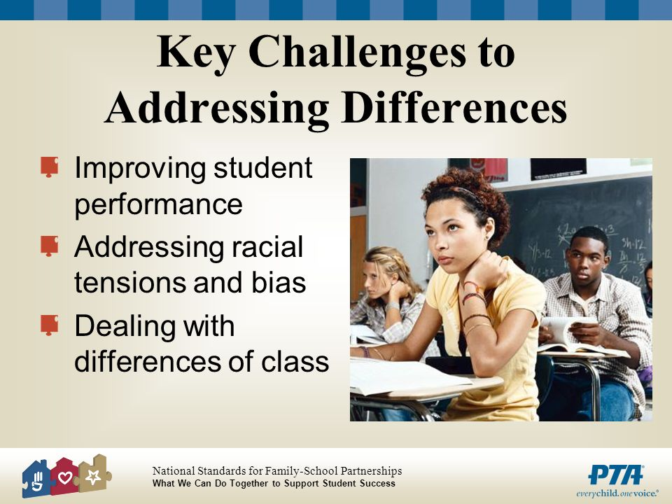 Key Challenges to Addressing Differences