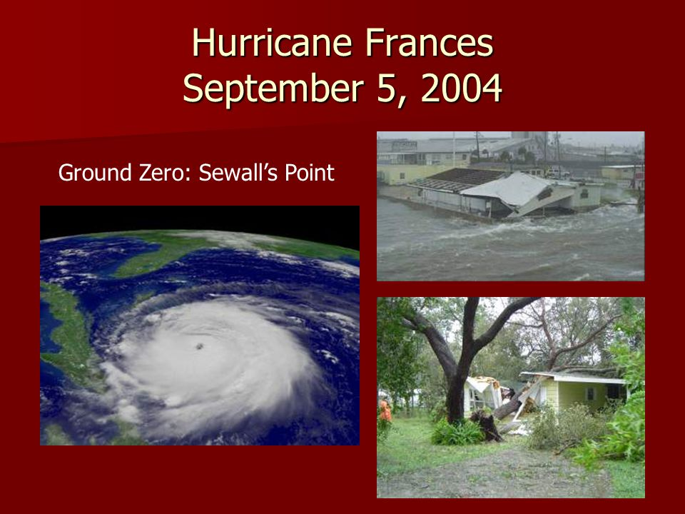 Hurricane Frances September 5, 2004