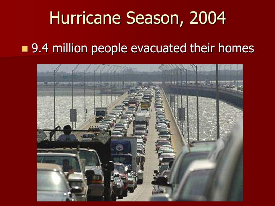 9.4 million people evacuated their homes