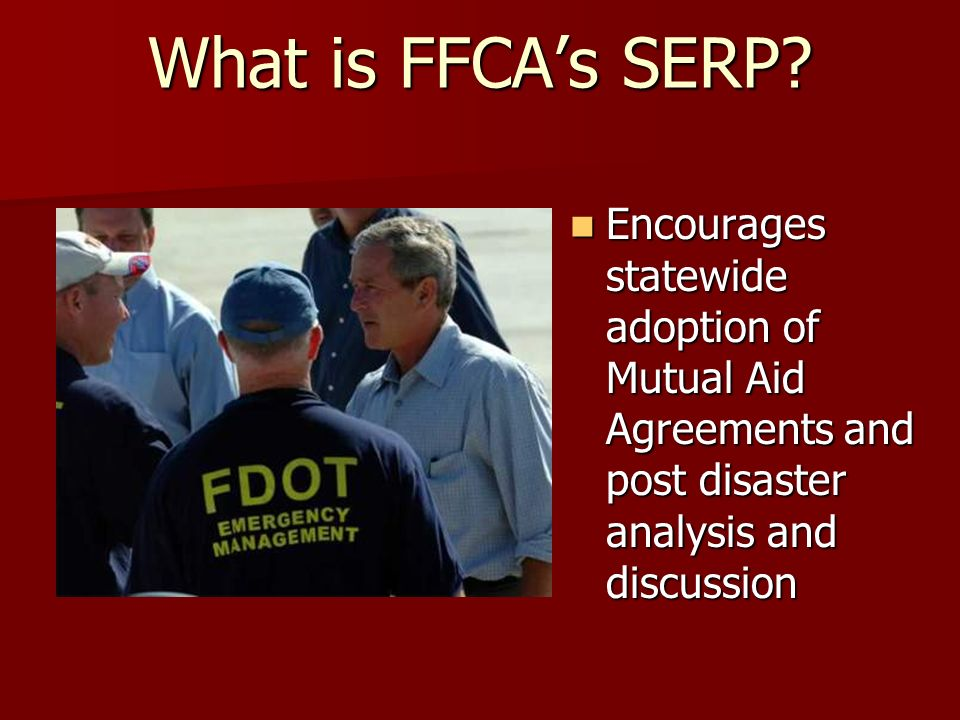 What is FFCA's SERP.