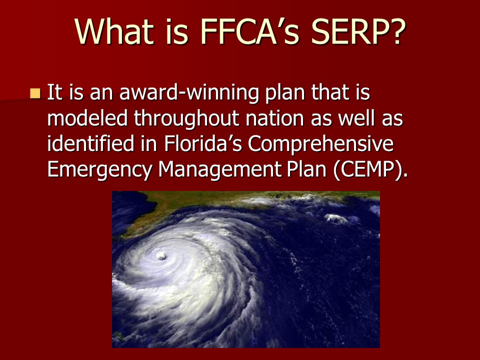 What is FFCA's SERP