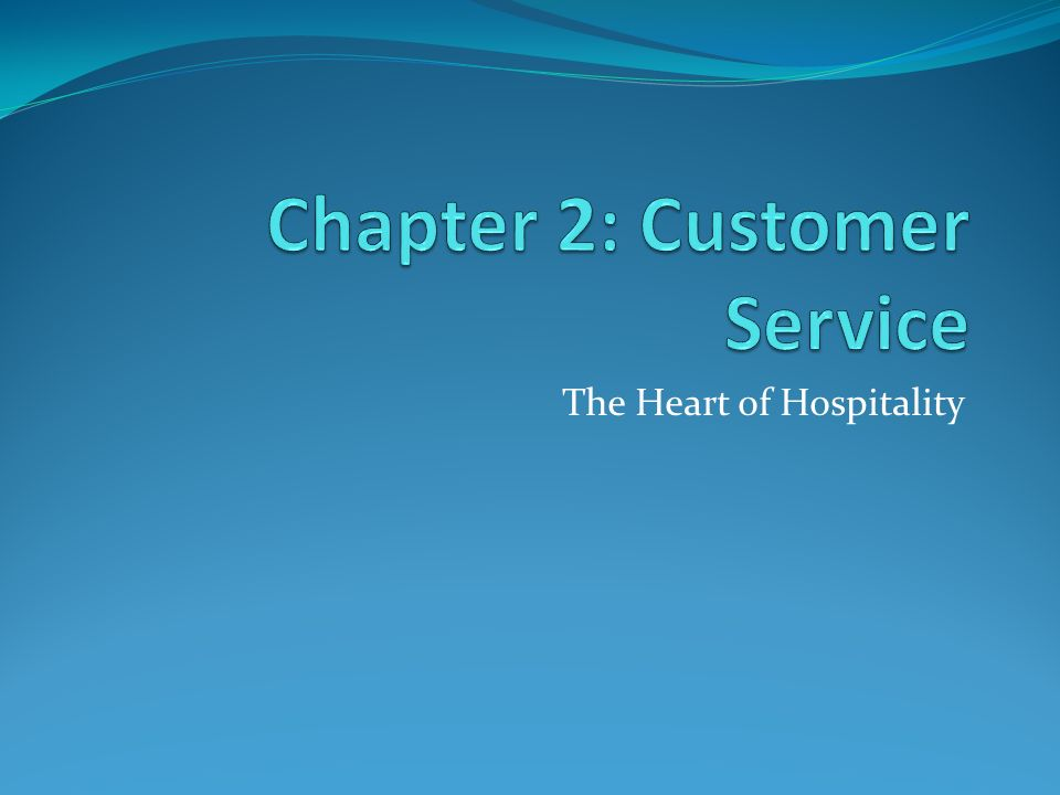 customer service chapter 1 and 2 This edition features a revised chapter on technology 1 what is customer service 2 the challenges of customer service 3 problem solving 4 companion website for customer service: a practical approach, 6th edition.