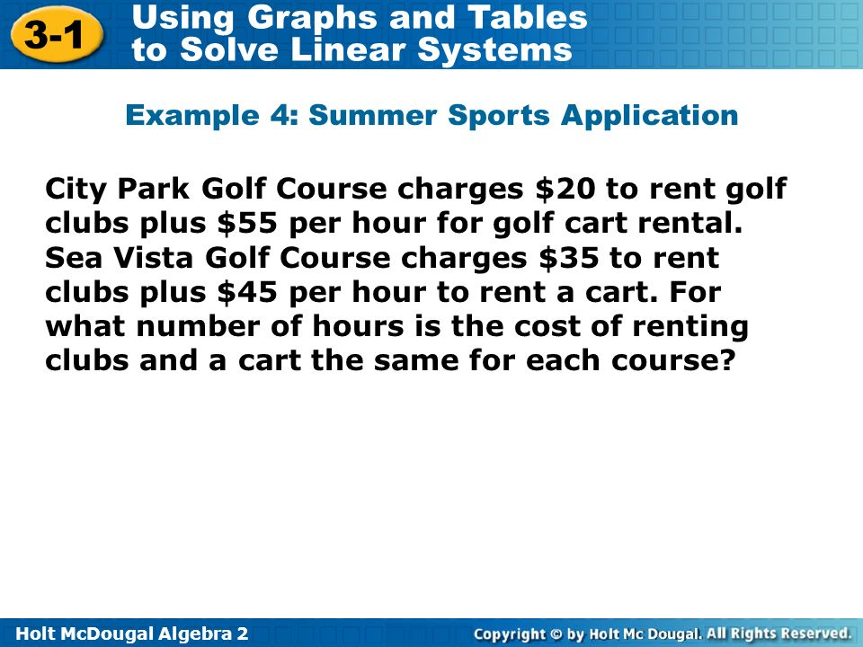 Example 4: Summer Sports Application