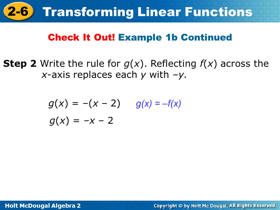 Check It Out! Example 1b Continued