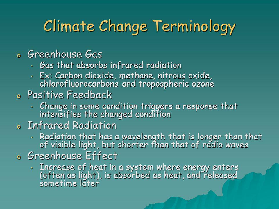 Climate Change Terminology