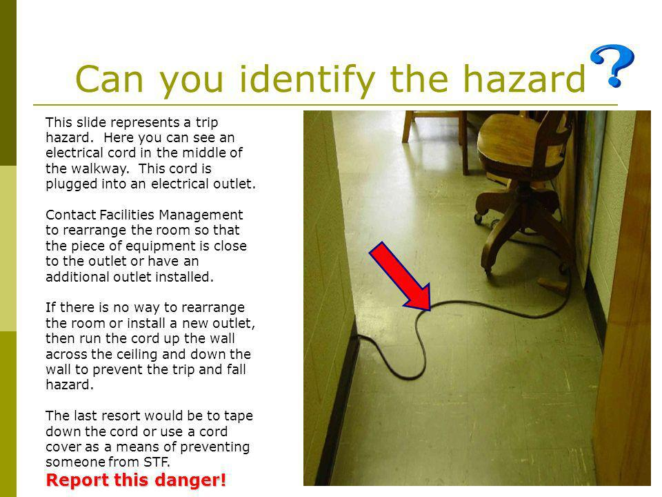 Can you identify the hazard