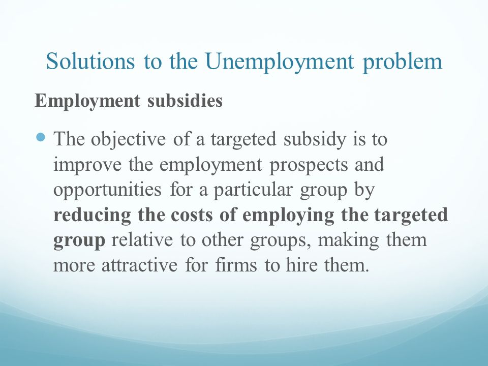 mudharabah solution to unemployment Optimal islamic monetary policy rule for malaysia: the svensson's approach.