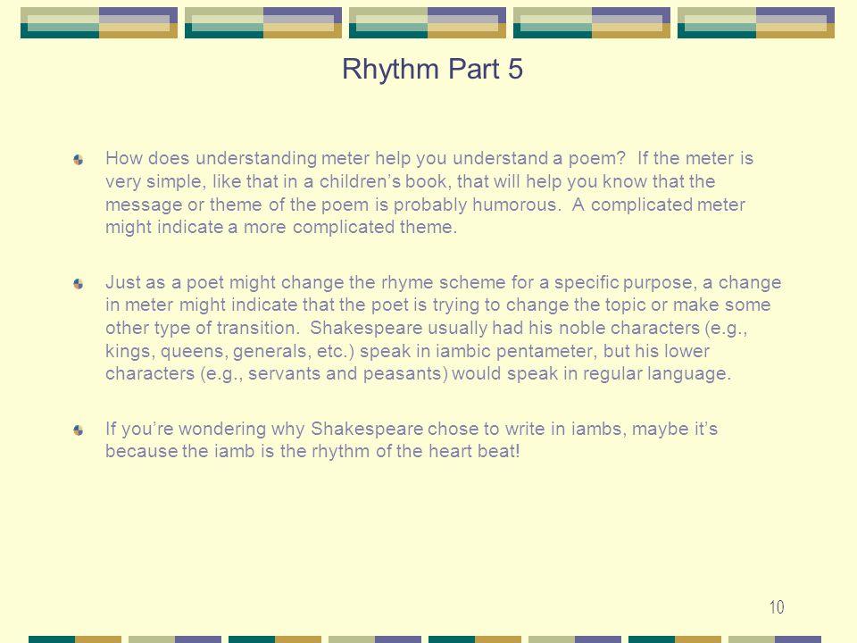 Rhythm Part 5