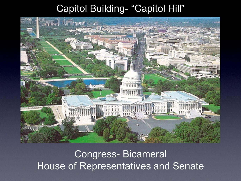 Capitol Building- Capitol Hill