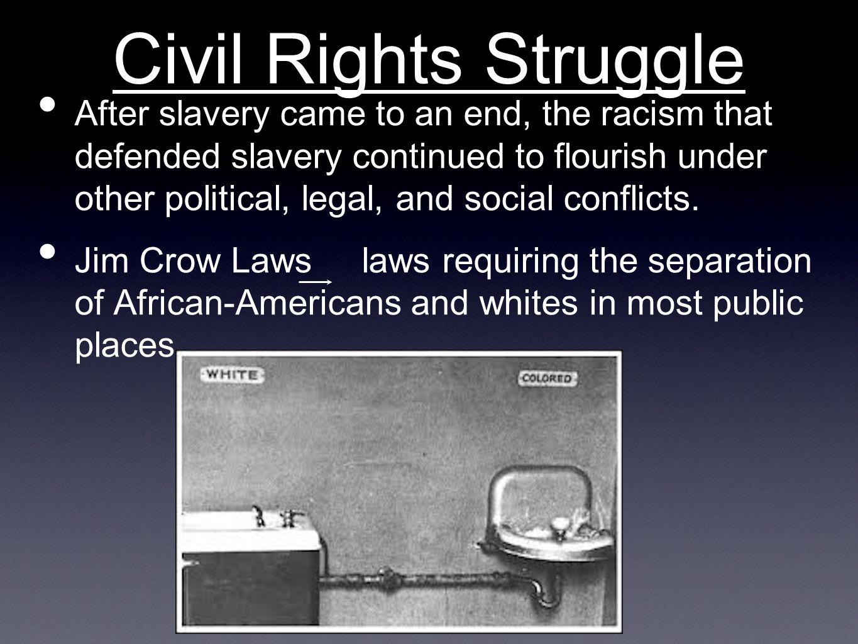 Civil Rights Struggle