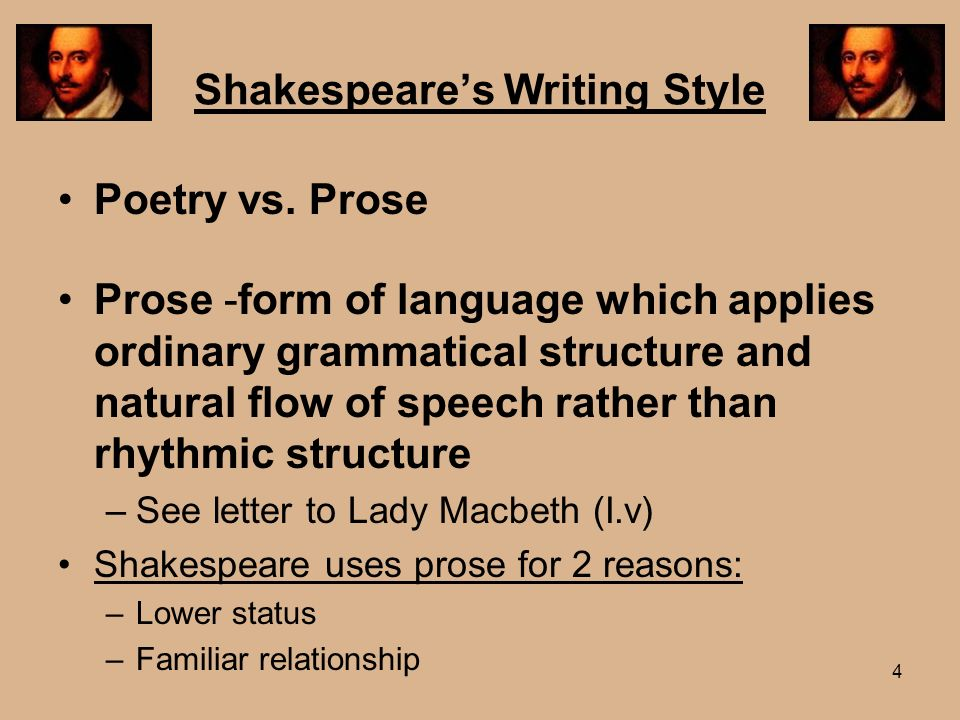 effect of shakespeares language essay Shakespeare in effect wrecked the powerful and coherent  unweeded, to name only a few—new to the written record of the english language 2 something must have.