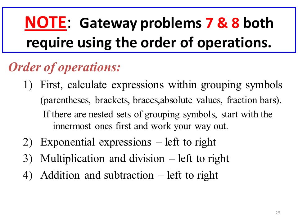 how to work out addition and multiplication inside brackets