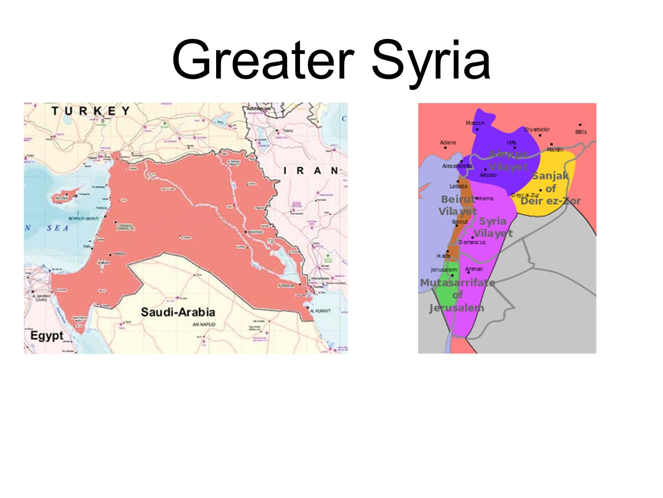 Greater Syria