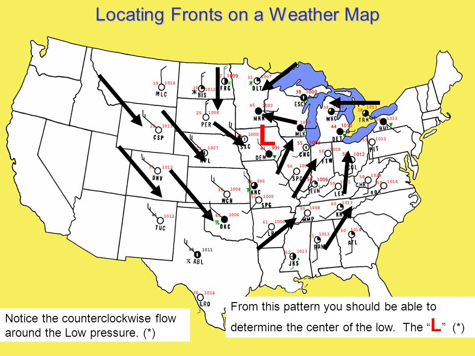 Us Weather Fronts Map Globalinterco - Map that shows weather conditions for all of the us