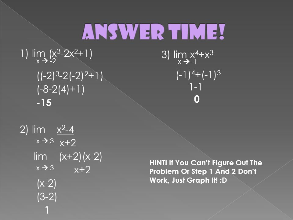 how to find the answer x3 x 2