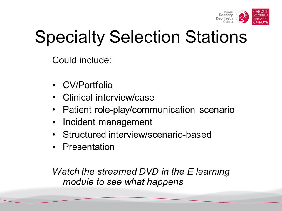 Specialty Selection Stations