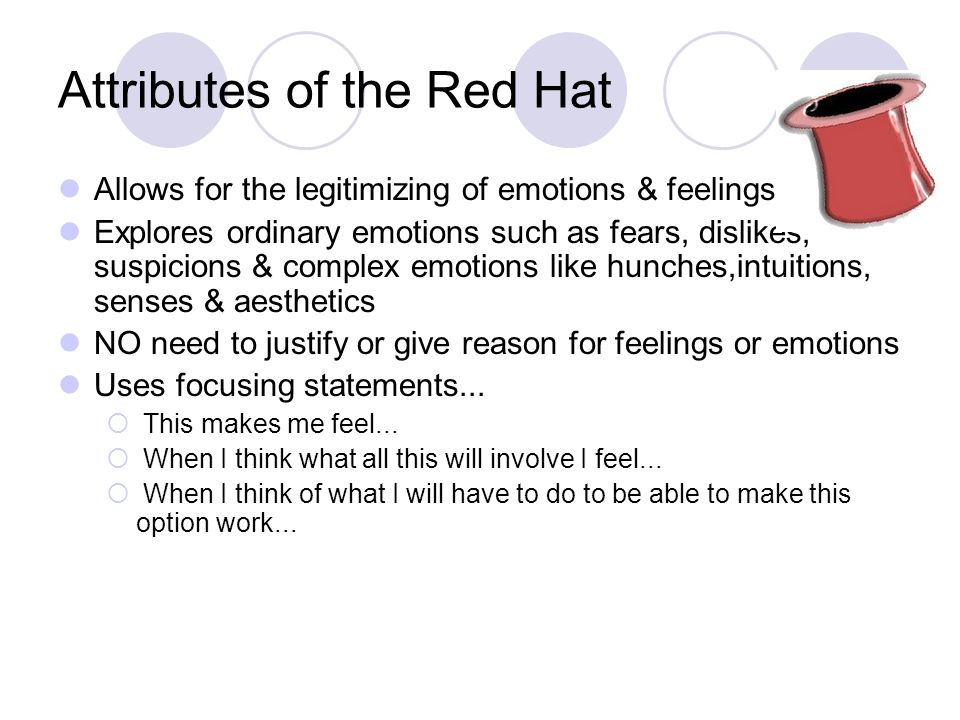 Attributes of the Red Hat