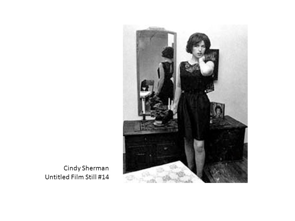 supermodel visual comparison of cindy sherman s Visual arts and exhibitions the artist uses herself as a model in her the retrospective exhibition at museum jorn shows more than 60 of cindy sherman's.