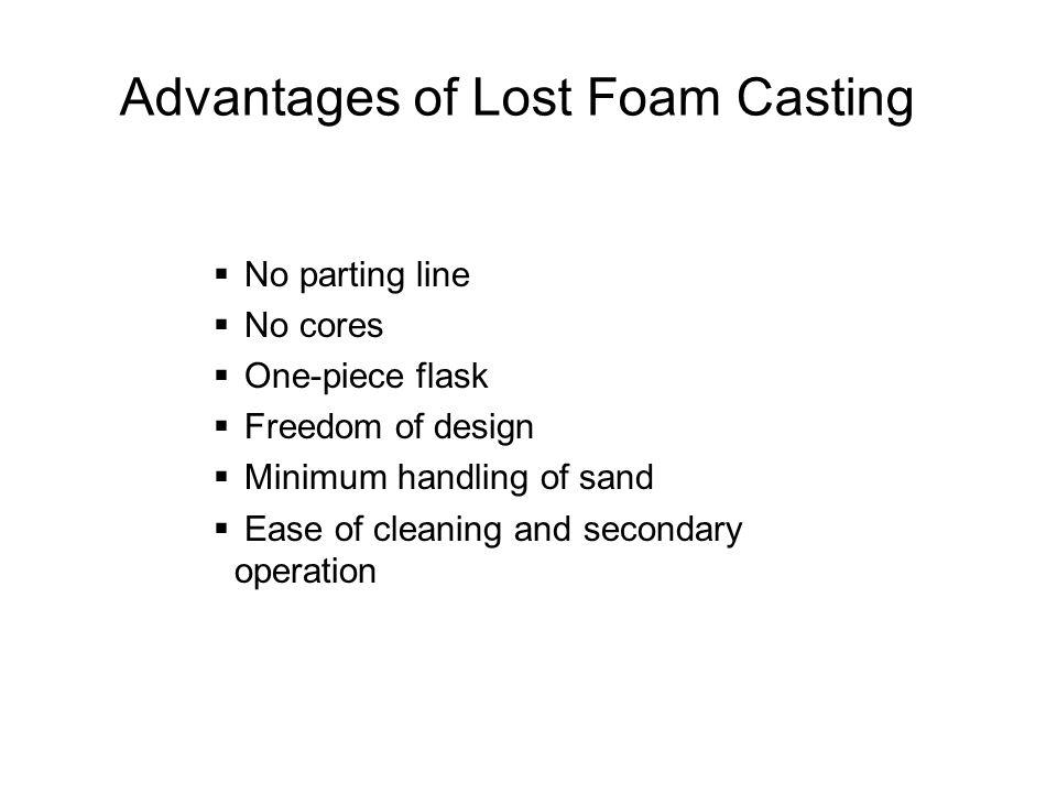 Advantages of Lost Foam Casting
