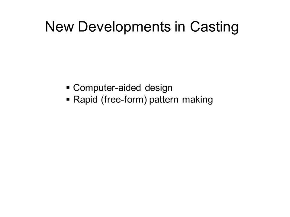 New Developments in Casting