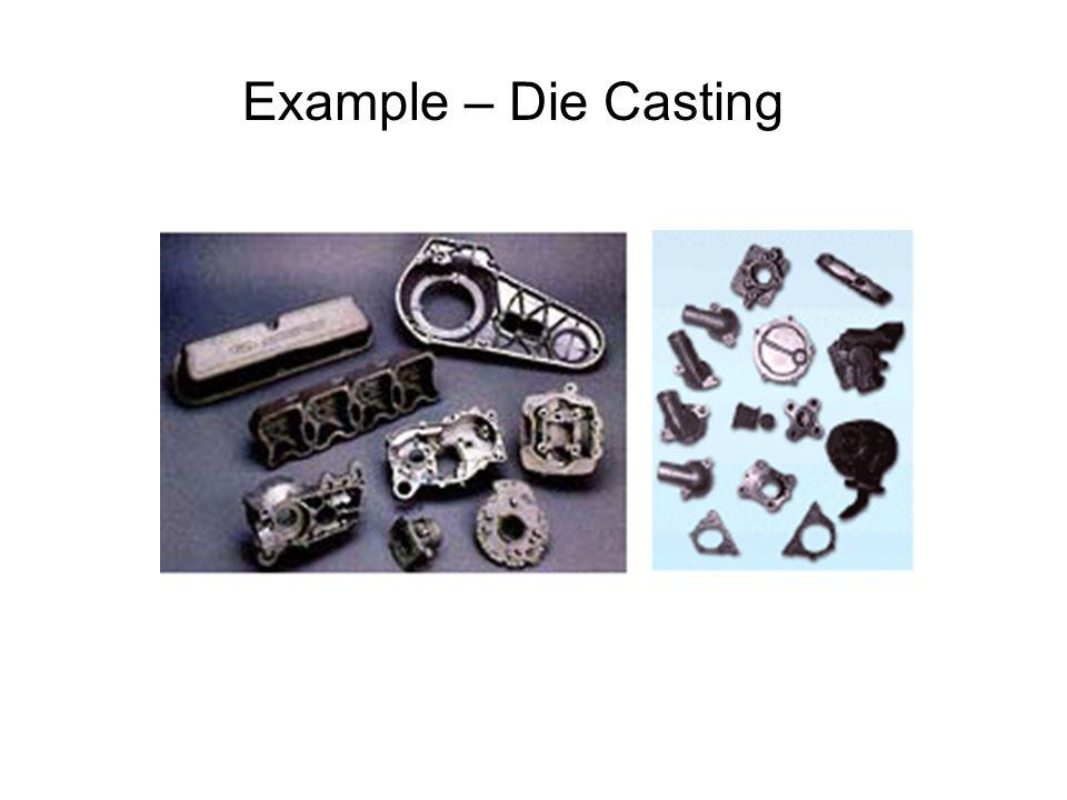 Example – Die Casting