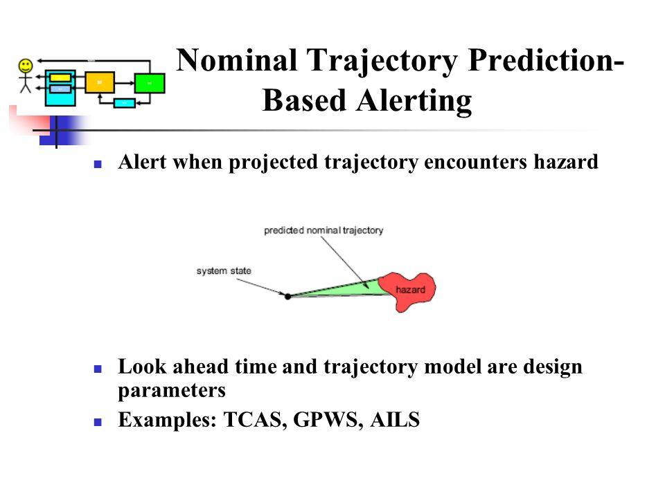 Nominal Trajectory Prediction- Based Alerting
