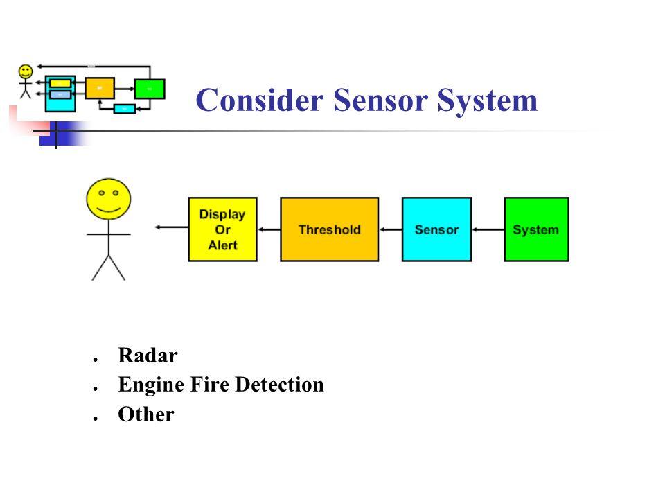 Consider Sensor System