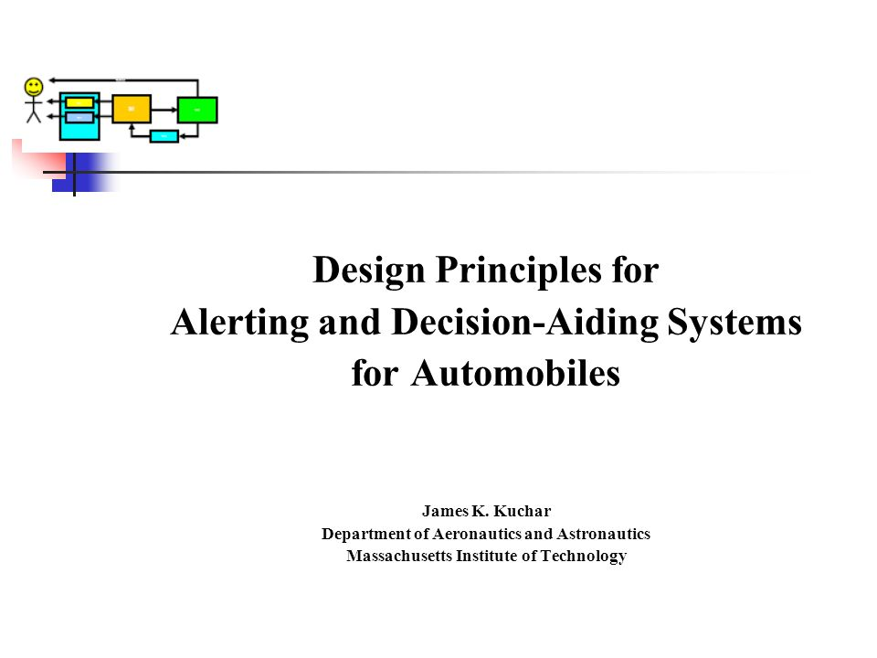 Design Principles for Alerting and Decision-Aiding Systems