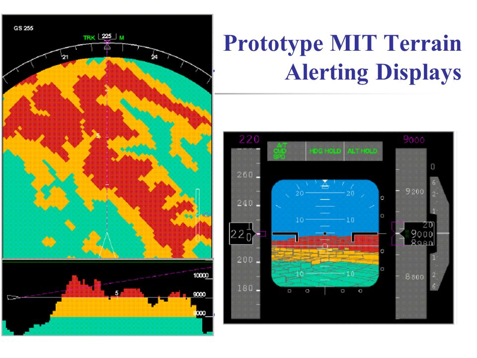 Prototype MIT Terrain Alerting Displays