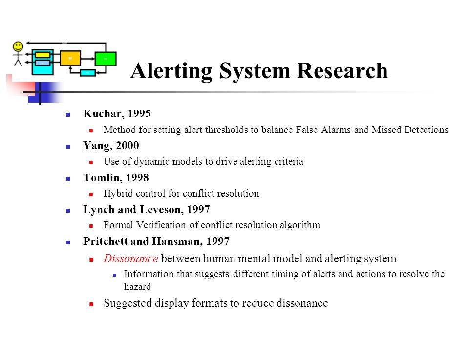 Alerting System Research
