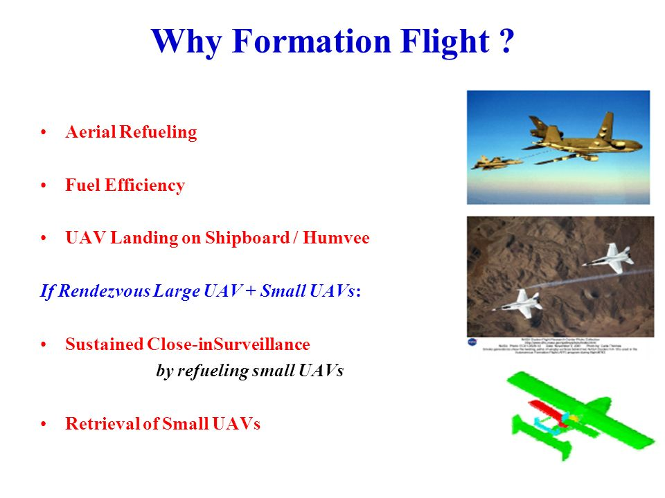 Why Formation Flight Aerial Refueling Fuel Efficiency
