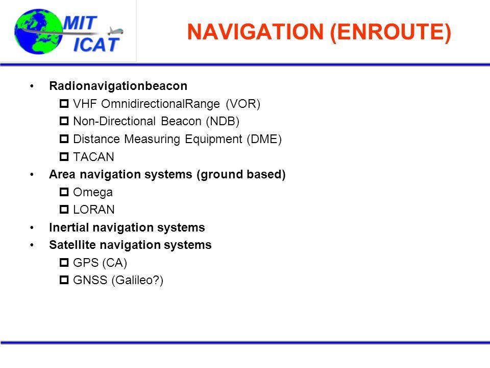 NAVIGATION (ENROUTE) Radionavigationbeacon