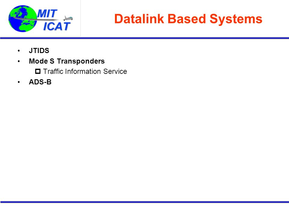 Datalink Based Systems
